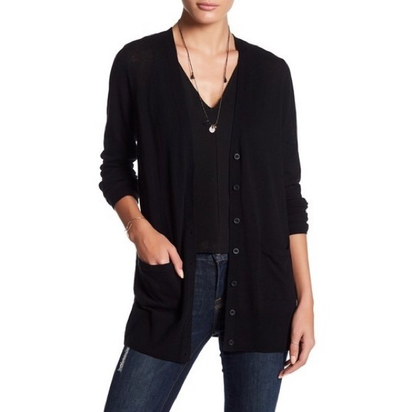 14th & Union Sweaters - 14TH & UNION Nordstrom Long Girlfriend Cardigan